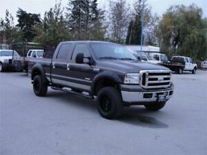 2007 FORD F-350 SUPER DUTY XLT CREW CAB SHORT BOX 1 TON *DIESEL*