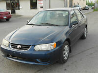 2001 Toyota Corolla CE,Certified & E-Tested,27 Mnt Warranty Free