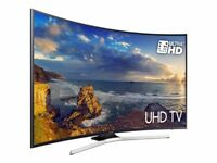 49'' CURVED SAMSUNG 4K ULTRA HDR LED TV.2017 MODEL UE49MU6220.FREESAT HD.FREE DELIVERY/SETUP