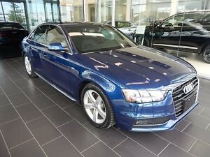 2015 Audi A4 S-Line Progressiv, Accident Free, One Owner, Winte