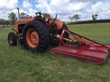 Fiat 513R Tractor & Slasher Stanthorpe Southern Downs Preview