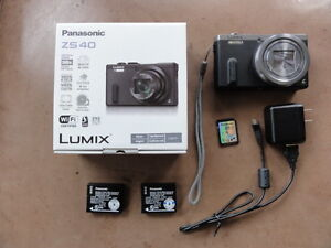 Panasonic DMC-ZS40 Digital Camera with Leica 30X Optical zoom
