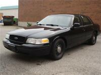 2010 FORD CROWN VIC.BLK/BLK EX-POLICE