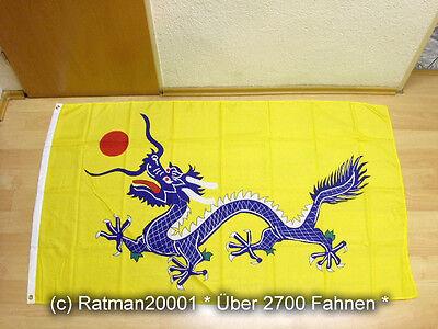Fahnen Flagge China Qing Dynastie - 90 x 150 cm
