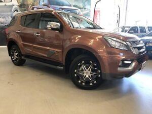 2016 Isuzu MU-X MY16.5 LS-T Rev-Tronic 4x2 Outback Bronze 6 Speed Sports Automatic Wagon