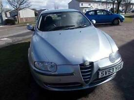 ALFA ROMEO 147 1.6 TS LS 5 DOOR HATCHBACK 53 REG,, MOT 2ND AUGUST 2018