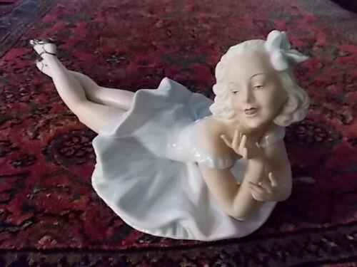 Schaubach - Kunst Germany Female Reclining Figurine