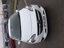 VAUXHALL CORSA 1.2 EXCITE AC 3DR (white) 2015