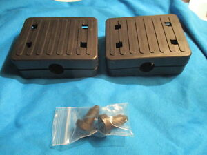 New Pedal Boat Pedals and Plugs