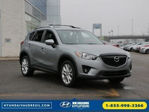 2014 Mazda CX-5 GT AWD NAV TOIT CUIR CAMERA MAGS West Island Greater Montréal image 1