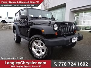 2013 Jeep Wrangler Sport ACCIDENT FREE w/ 6-SPEED MANUAL