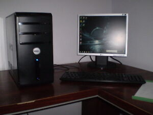 DELL VOSTRO CORE 2 DOU 2.5GHz,6GB RAM,2 HDD'S,MONITOR,KEYBOARD