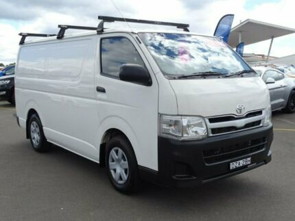 2011 Toyota Hiace KDH201R MY11 LWB White 5 Speed Manual Van Albion Park Rail Shellharbour Area Preview