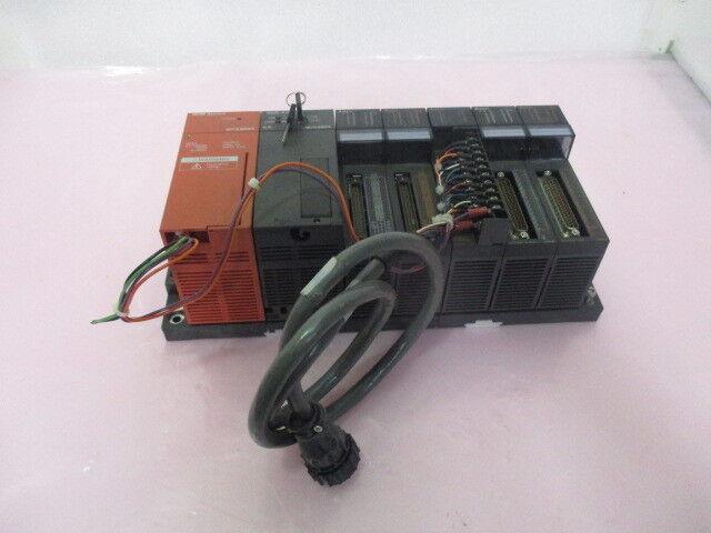 Mitsubishi MELSEC A1SHCPU PLC Module Assy, A1SY81 Output Unit, A1S62PN. 423392