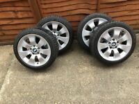 "17"" BMW alloy wheels off e90 3 series"