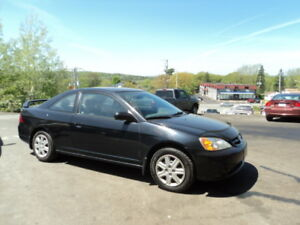 GREAT DEAL!  Civic Coupe (2 door) NEW MVI NEW BRAKES!!!