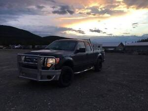 Lifted and Leveled 2009 Ford F-150 REDUCED