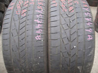 255/45/20 Goodyear Excellence, Audi x2 A Pair, 5.5mm (168 High Road, Romford, RM6 6LU) Second Hand