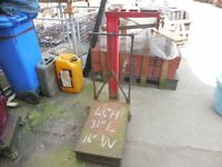 Platform ladders Industrial ladders Warehouse ladders