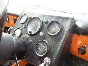 1968 Datsun 1000 Deluxe Orange 3 Speed Manual Sedan