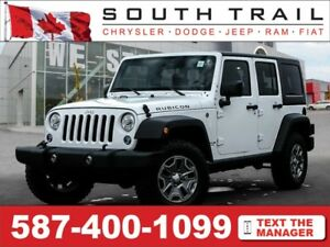 '17 Jeep Wrangler Unlimited RUBICON - Htd Sts, Nav, HDD, TchScrn
