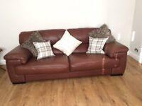 Sofology Italian leather sofa