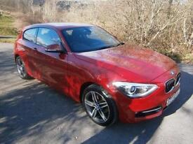 BMW 118d Sport 2.0TD ( 143bhp ) Sports Hatch 2013