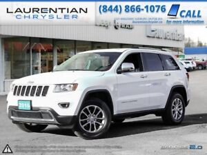 2016 Jeep Grand Cherokee LIMITED-SUNROOF, BLUETOOTH, LEATHER, BA