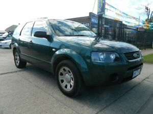 2006 Ford Territory SY TX (RWD) Green 4 Speed Auto Seq Sportshift Wagon Williamstown North Hobsons Bay Area Preview