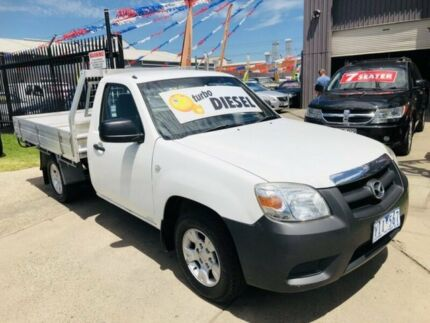 2011 Mazda BT-50 09 Upgrade Boss B3000 DX White 5 Speed Manual Dual Cab Pick-up Brooklyn Brimbank Area Preview