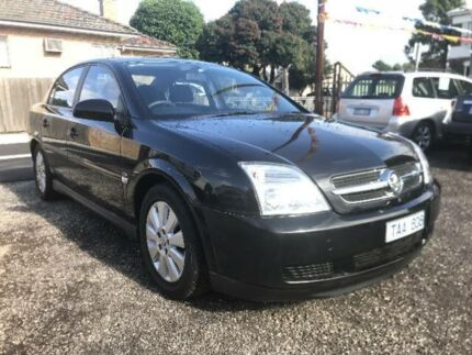 2004 Holden Vectra ZC MY04 CD Black 5 Speed Automatic Sedan South Geelong Geelong City Preview