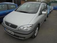 Vauxhall Zafira 1.8 i 16v Elegance 5dr 7 ER