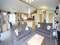 NEW IN STOCK. LODGE/STATIC CARAVAN FOR SALE. NR NORFOLK BROADS. GREAT YARMOUTH. NOT SKEGNESS