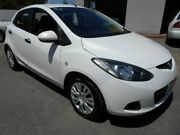 2009 Mazda 2 DE Neo White 5 Speed Manual Hatchback Woodville Charles Sturt Area Preview