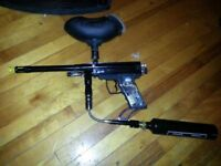 Electronic trigger paintball gun *trades welcome*
