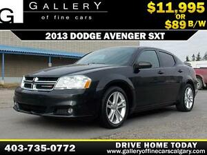 2013 Dodge Avenger SXT $89 BI-WEEKLY APPLY NOW DRIVE N