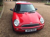 MINI ONE VERY GOOD CONDITION IN GLEAMING RED BODYWORK DRIVES LOVELY NO FAULTS