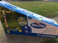Zinc Glo Glo Tri-scooter