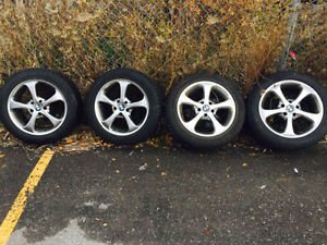 OEM BMW RIMS WITH WINTER TIRES