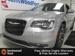 2015 Chrysler 300 S AWD with heated power leather seats and a ba