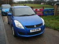 2011 Suzuki Swift 1.2 SZ3 5DR Hatchback Petrol Manual