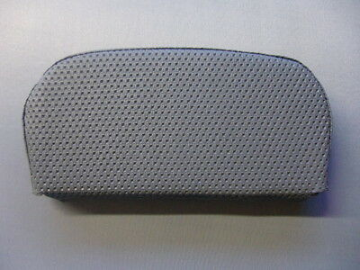Light Grey Basket Weave Scooter Back Pad Cover