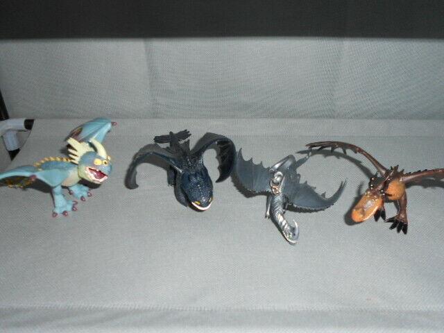 Drachenzähmen leicht gemacht Dragons Drachenfiguren sechs Stück