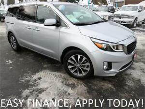 2018 Kia Sedona LX+ APP CONNECT! F & REAR HEATED LEATHER! BSM!
