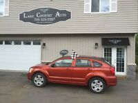 2009 Dodge Caliber-Cert/Etested, Manual transmission, SXT