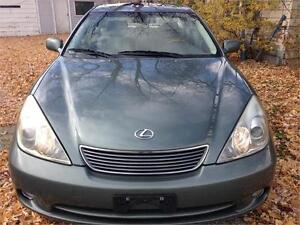 2005 LEXUS ES 330,PW,PL,AC,LEATHER,SUNROOF,NAVIGATION,E-TEST