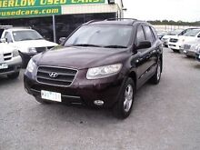 2007 Hyundai Santa Fe CM MY07 SLX (4x4) Burgundy 4 Speed Automatic Wagon Officer Cardinia Area Preview