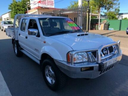 2014 Nissan Navara D22 Series 5 ST-R (4x4) White 5 Speed Manual