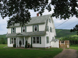 "Luxury Property, Cabot Trail,  Overlooking the"" Margaree River """