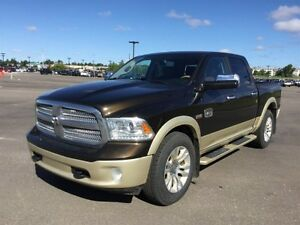 2013 Ram 1500 4WD CREWCAB LONGHORN Finance $237 bw